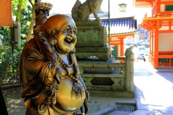 Golden Buddha from Yasaka Shrine