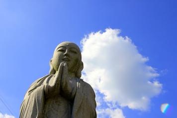 Stone Buddha near Arashiyama