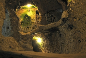 The Intersection of Six Underground Passages