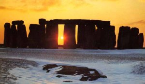 Stonehenge on December 22nd
