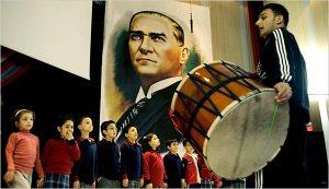 Ataturk always looks angry