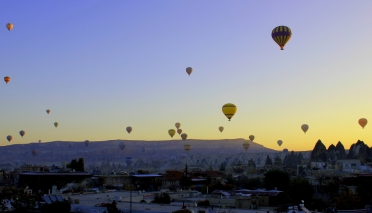 Hot Air Balloons at Sunrise - Kappadokya