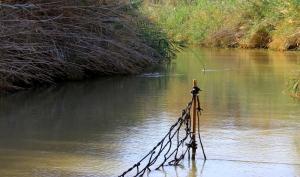 The River Jordan @ the Place of Jesus' Baptism