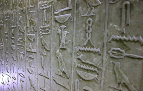 Authentic, Inner-Tomb Hieroglyphics
