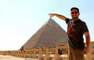 Obligatory Pyramid Pose