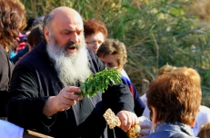 A Greek Orthodox Baptism at the River Jordan