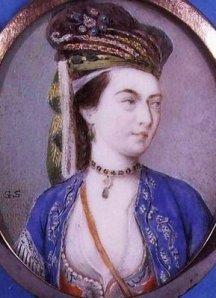 Lady Montague wearing her Turkish Turban