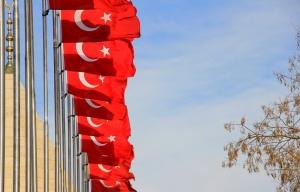 When One Turkish Flag Just Won't Do...