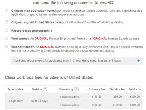 From VisaHQ.com (Check the Price List at the Bottom)...