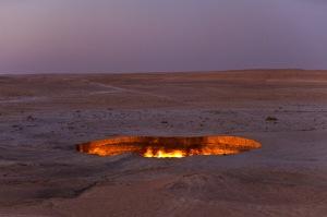Derweze, Ahal Province, Turkmenistan
