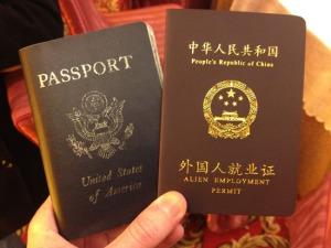 Chinese Alien Employment Permit