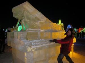 Elton John's Ice Piano