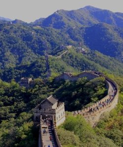 The Mutianyu Section of the Restored Great Wall