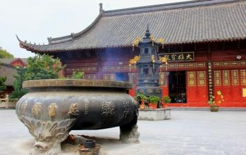 Zhouhua Temple - Huai'an, China