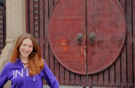Jen @ the Longhua Temple Gate