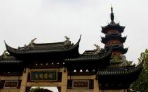 Gate and Pagoda - Longhua Temple