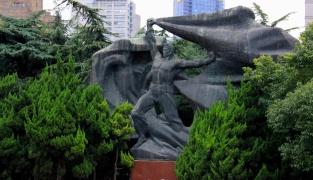 Communist Propaganda Statue - Shanghai