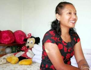Rashmila Shakya as a Normal Nepali Woman