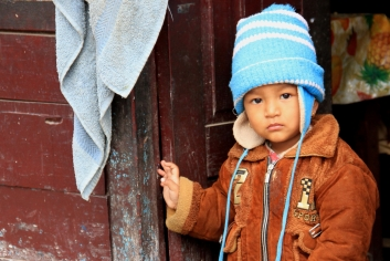 A Poor Nepali Child