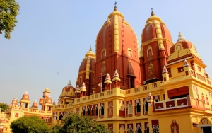 Lakshi Narayan Hindu Temple in Delhi, India
