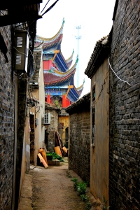 The Ancient Town near Huai'an where Cheng'en Lived...
