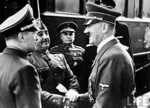 Franco Meets Hitler in 1940