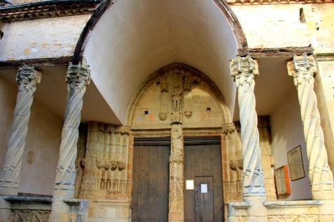 Abbey of St. Tiberi in Aurignac