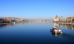You can almost hear Strauss as you sail along the Blue Danube...