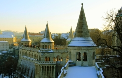 Fisherman's Bastion (I couldn't take photos in the Hospital or House of Terror)