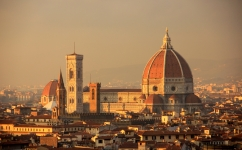 The Duomo of the Santa Maria Cathedral - Florence's most recognizable sight