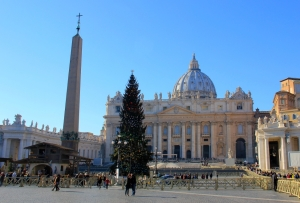 Piazza di St. Pietro (Technically still Rome, not Vatican City)