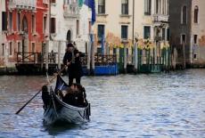 Venice - A Lone Gondola