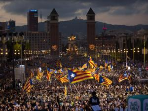 Thousands of Catalans Rally for their Independence