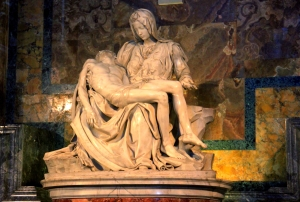 His isn't the Only Pieta, but it is the Most Famous