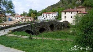 A Bridge over the Arga River (also along the Camino de Santiago)...