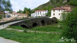 A Bridge over the Arga River (also along the Camino de Santiago)...