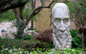 The Head of Cervantes in Toledo, Spain