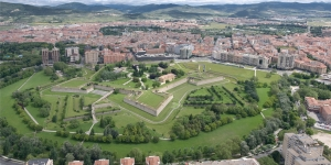 The Citadel in central Pamplona