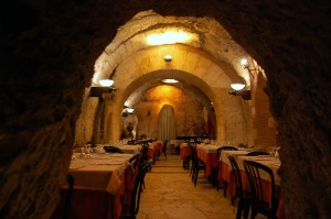 The Basement Dining Room underneath Da Pancrazio Ristorante