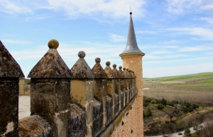 One of the Rapunzel Towers of Alcazar...