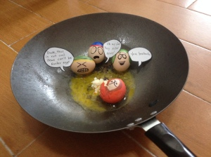 What's Possible with White Eggs (from our year in China)...