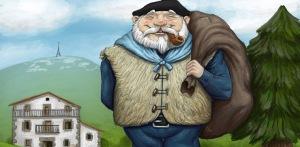 Olentzero, the Basque Santa Claus (he's a miner)