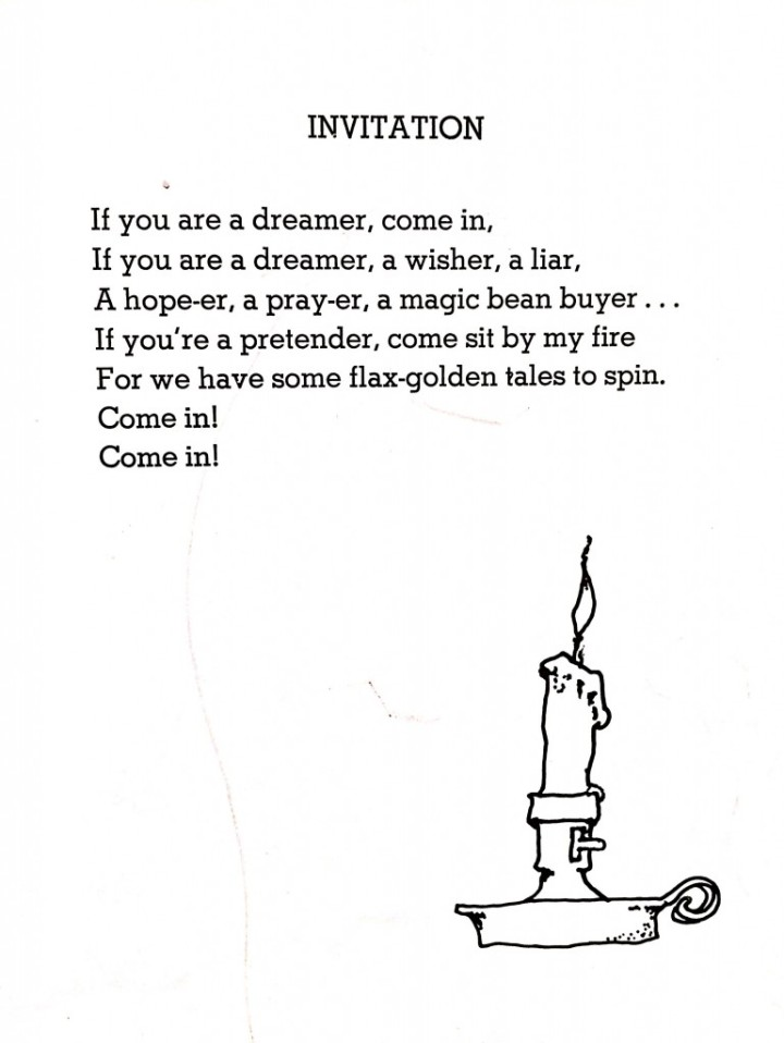 From Where the Sidewalk Ends - poems by Shel Silverstein