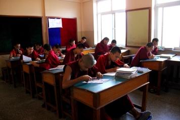 Fifth Grade Monks in Class