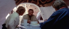 Luke, Owen, and Beru at their Dining Room Table (1977)