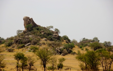 Simba Kopje - the inspiration for Pride Rock in Disney's The Lion King!